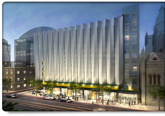 Civic Center Garage: A Wall Of Parking Garages On The Schuylkill Waterfront? In