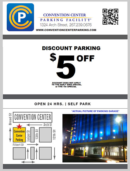 Discount parking coupons center city philadelphia